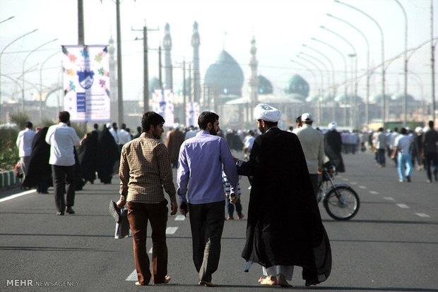 اعزام سفیران مهدوی مسجد مقدس جمکران به مراکز بهزیستی و بیمارستانها