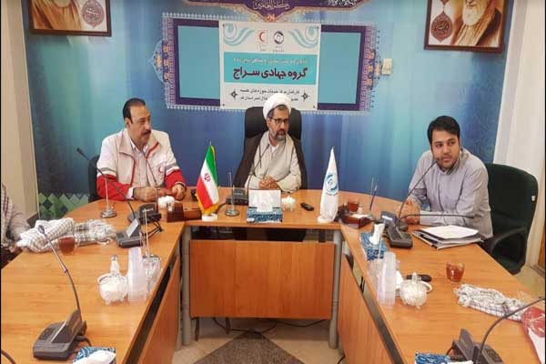 داوطلبان خانه هلال مرکز خدمات حوزه علمیه به مناطق سیلزده خوزستان اعزام شدند