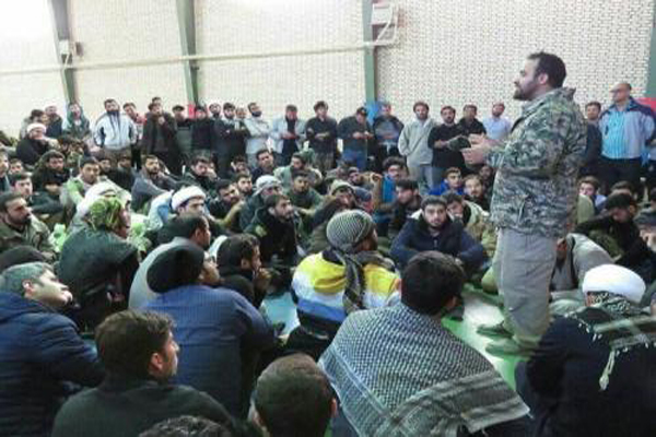 اعزام نیروهای قرارگاه جهادی از قم و تهران به مناطق سیل زده