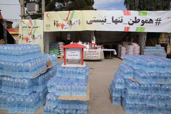 هفتمین محموله کمک های مردم قم به مناطق آسیب دیده از سیل اعزام شد