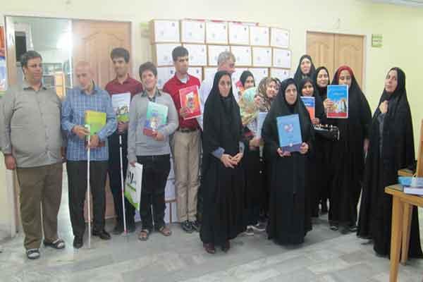 تولید بیش از 100هزار صفحه بریل منابع جشنواره کتابخوانی رضوی