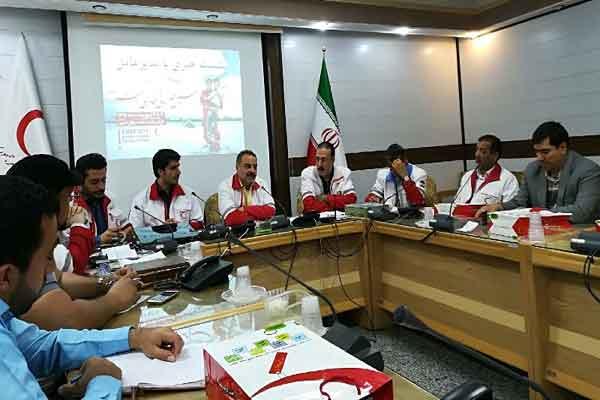 هلال احمر قم رتبه نخست آموزش را در کشور به دست آورد