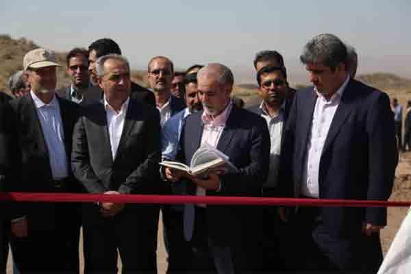 15 سازه ی آبخیزداری افتتاح شد