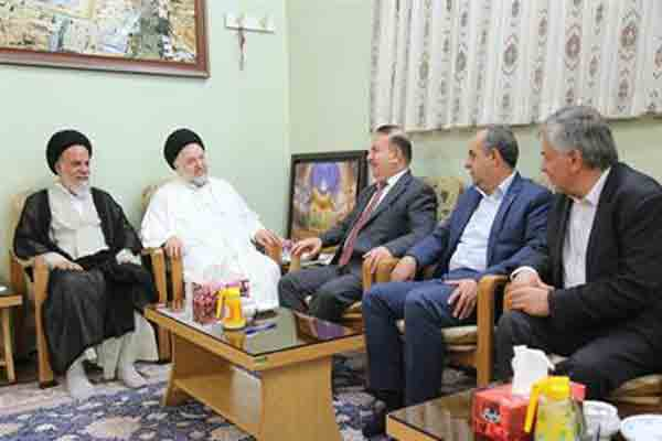 توسعه و تقویت همکاری قم و عراق برای خدمت به زائران