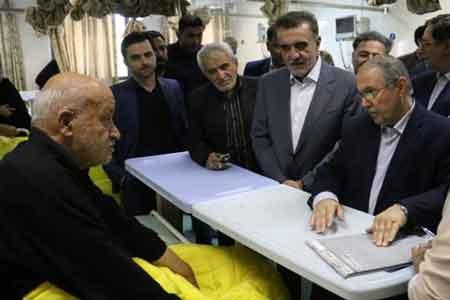 رئیس کمیسیون بهداشت مجلس از بیمارستان شهید بهشتی قم بازدید کرد
