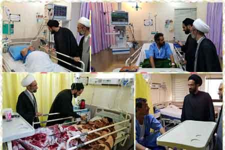 اجرای طرح تبلیغ بالینی در بیمارستان امام رضا (ع) قم