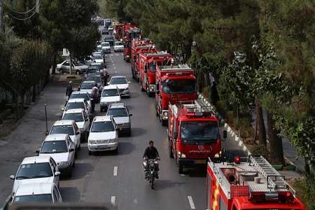 تجهیزات امدادرسانی در زلزله برای آتشنشانی قم خریداری میشود