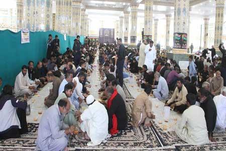 پذیرایی از 13500 زائرغیرایرانی در موکب مسجد مقدس جمکران