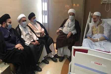 سلامتی آیتالله حسینی بوشهری رو به بهبود است