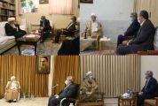 وزیر کشور با مراجع و علما در قم دیدار کرد