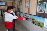 برپایی نمایشگاه عکس فعالیتهای بشردوستانه جمعیت هلال احمر