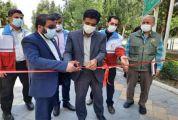 افتتاح سحاب با هدف پیشگیری از حوادث در بوستان علوی
