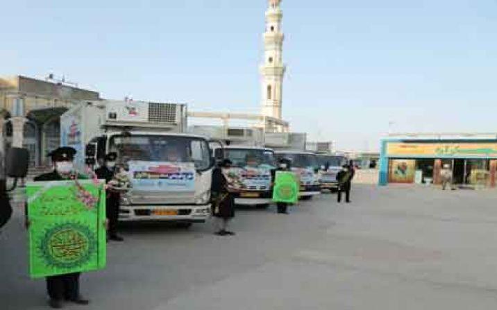کمک های مومنانه خادمان مسجد جمکران به 370 خانواده نیازمند در قم