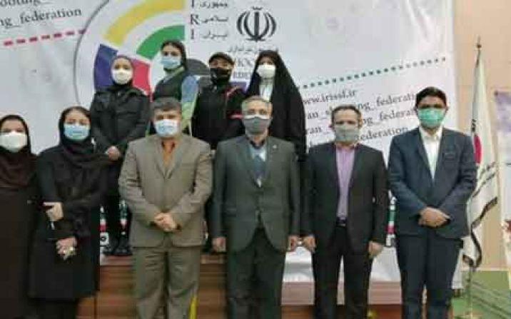 رتبه سوم رقابتهای لیگ برتر تیراندازی زنان کشور به قم رسید