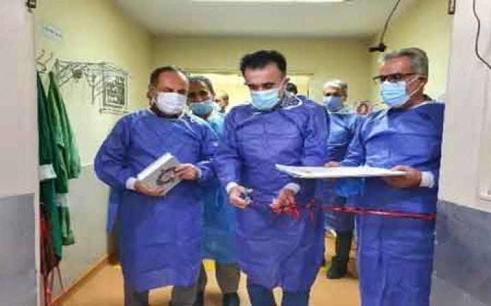 طرح توسعه تخت های ویژه بیمارستان تامین اجتماعی قم افتتاح شد