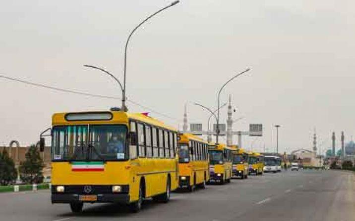 ورود ۲۰ دستگاه اتوبوس شهری بازسازی شده به چرخه حمل و نقل قم