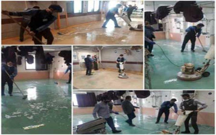 بیمارستان شهید بهشتی قم از کرونا خارج شد