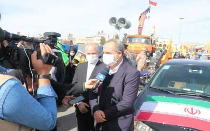 استاندار قم از حضور مردم در راهپیمایی متفاوت یوم الله ٢٢ بهمن تشکر کرد