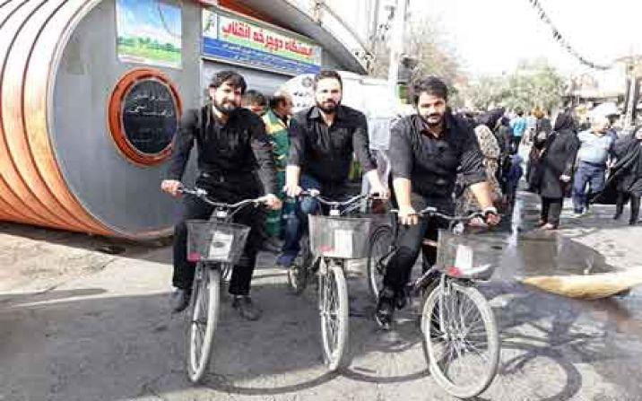 راهاندازی نسل جدید دوچرخههای اشتراکی در قم