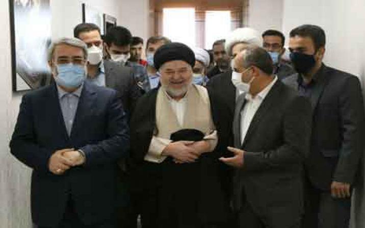 وزیر کشور از بیمارستان 506 تختخوابی نور قم بازدید کرد