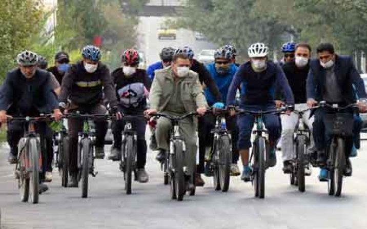 پیست دوچرخهسواری پردیسان تا ۳ ماه آینده تکمیل می شود