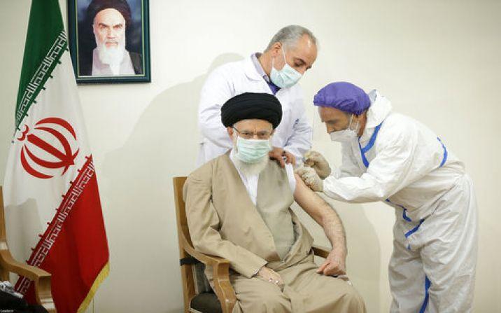 رهبر معظم انقلاب اسلامی دُز اول واکسن کوو ایران برکت را دریافت کردند