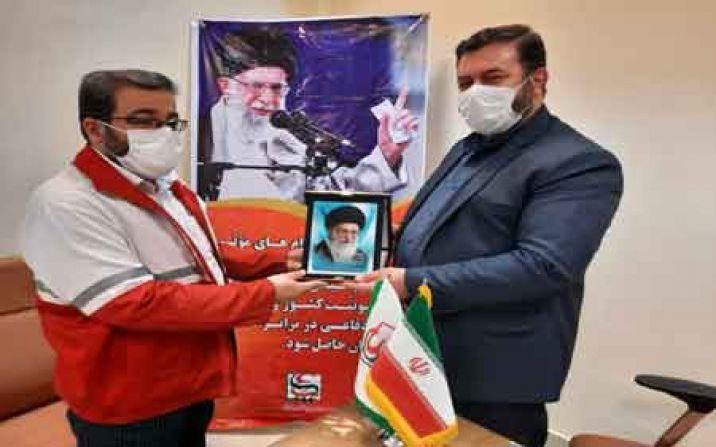 قدردانی مدیر کل پدافند غیر عامل از جمعیت هلال احمر استان قم