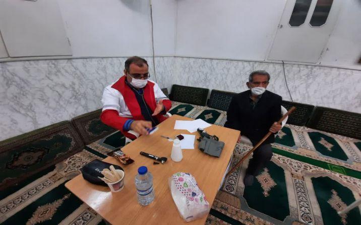 ویزیت رایگان 120 نفر از مردم محروم منطقه نیروگاه