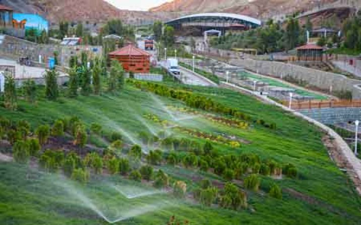 تصویب طرح جامع آبیاری فضای سبز شهر قم در وزارت کشور