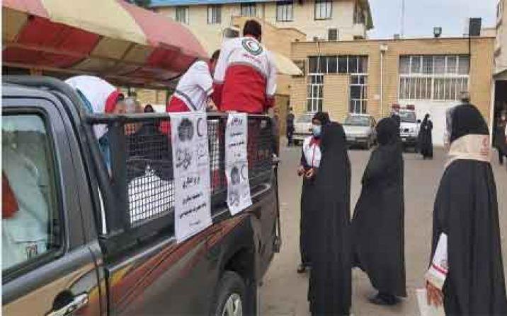 توزیع 500 بسته افطاری بین نیازمندان در ماه مبارک رمضان