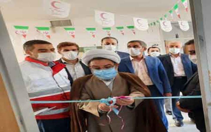 افتتاح بانک تجهیزات پزشکی امانی شهر دستجرد